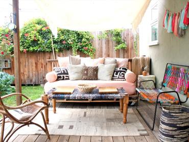 Bohemian stijl  tuin;<br><b>De basis</b>
