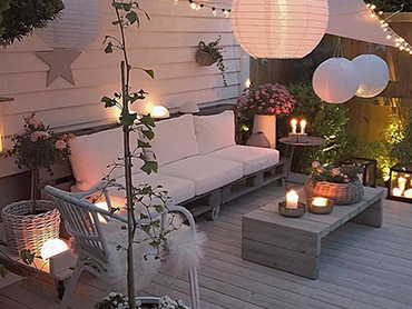 Bohemian stijl tuin:<br><b>de verlichting</b>