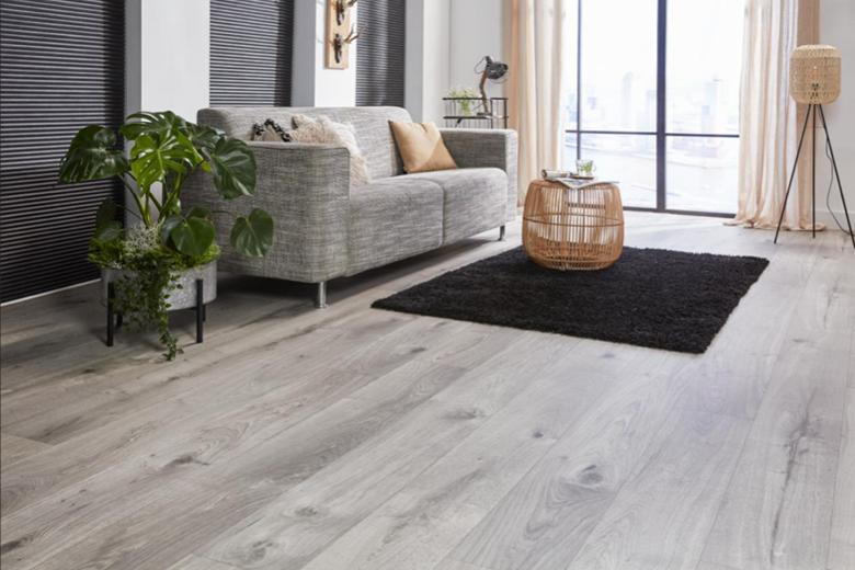 Extra grote houten planken… van vinyl