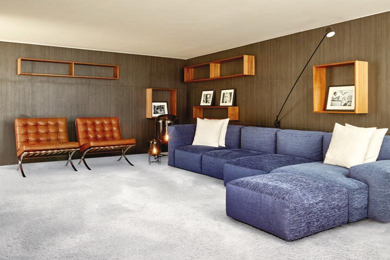 Tapijt is comfortabel, zacht en luxe