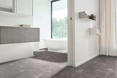 Een <b>PVC vloer</b> in de <b>badkamer</b> kan dat?
