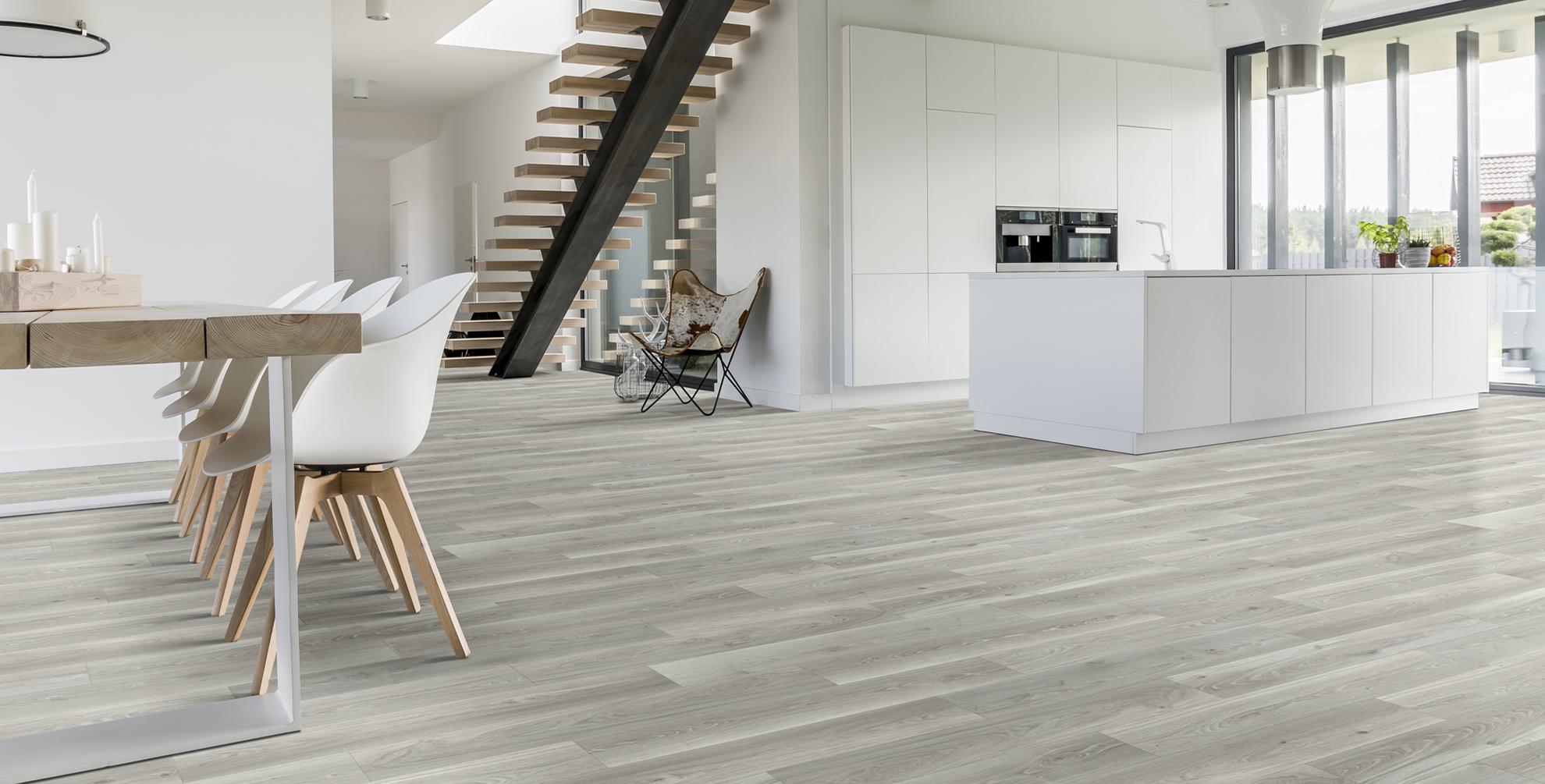 keuken vraagt om <b>praktische vloer</b>