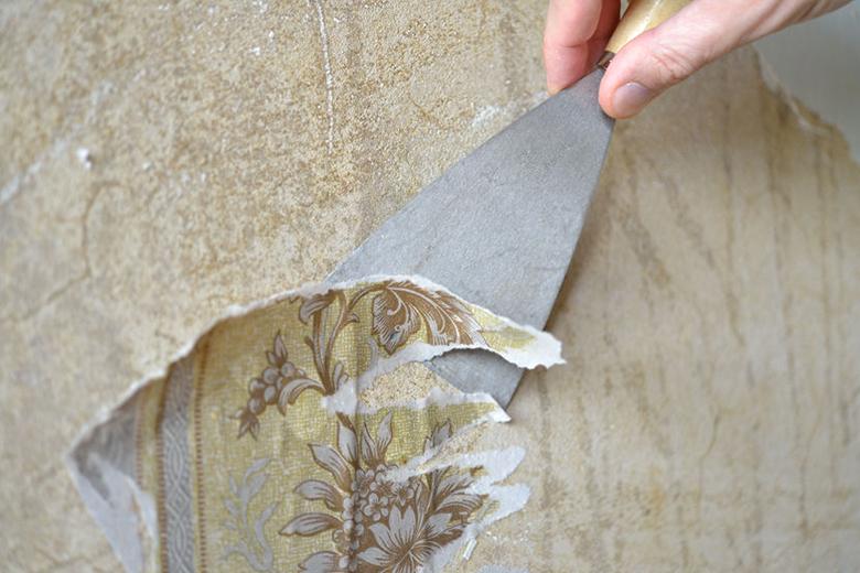 Hoe verwijder je behang?