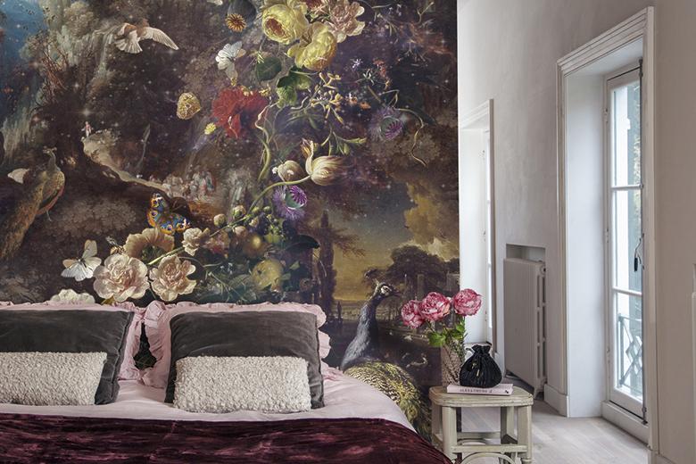 Foto Op De Muur.Behang Op Een Geverfde Muur Kan Dat Decopedia Van Decokay