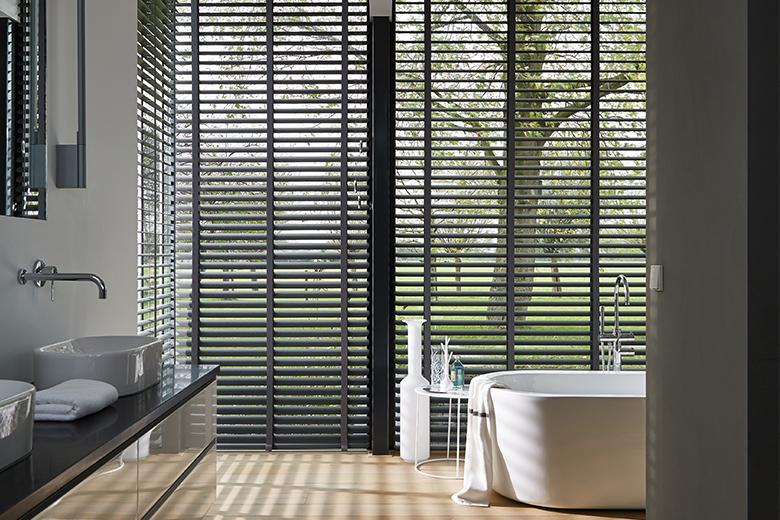 Aluminium jaloezieën voor de badkamer