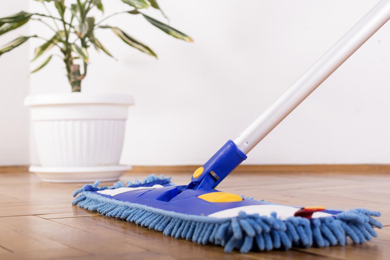Hoe reinig je een laminaatvloer?