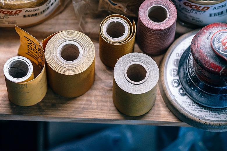 Overzicht van korrelgroottes schuurpapier