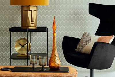 Behang voor woonkamer styling