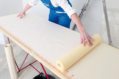 Behang banen snijden welke lengte