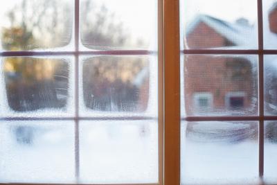 Buiten schilderen in de winter, liever niet