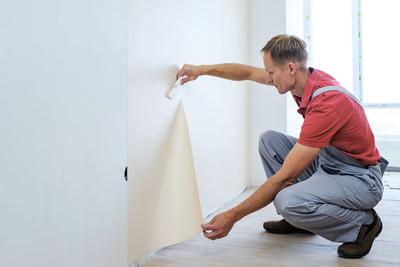 Renovatiebehang goedkoper dan stucen