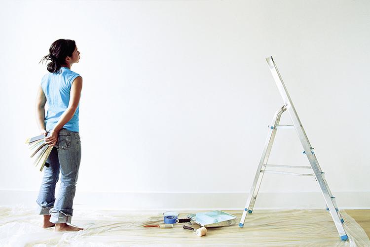 Berekenen hoeveel muurverf je ongeveer nodig hebt?