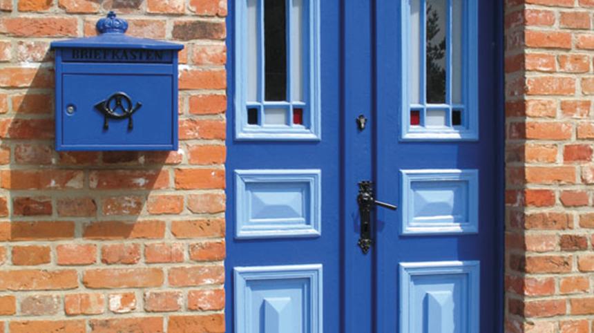Tips voor schilderen van deuren buiten