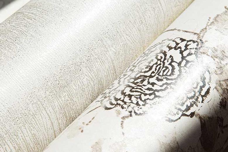 Vinylbehang kan tegen water en is minder gevoelig voor scheuren