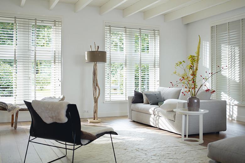 Met raamdecoratie geef je een ruimte een bepaalde sfeer