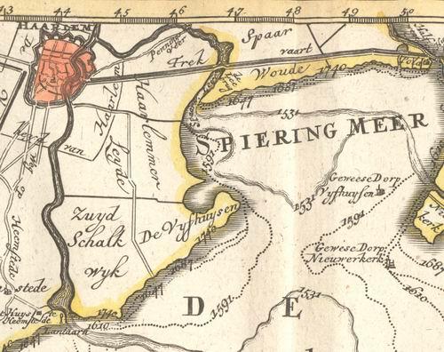Jan Wies over de Haarlemmermeer Historie Dorpen Vijfhuizen