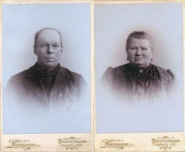 Matthijs van den Heuvel met Vrouw Maria Rikaart