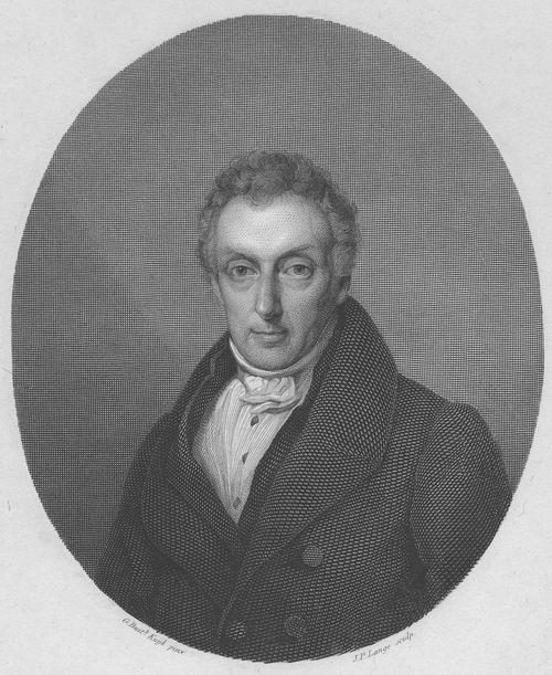 Anthonie Moll 1786-1843 1825 Gravure