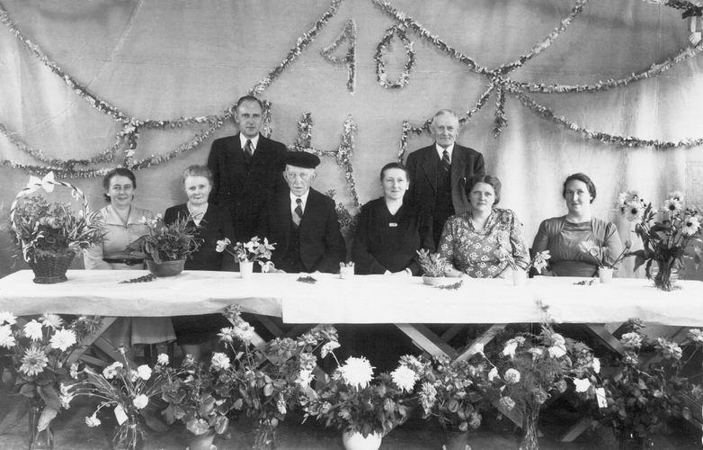 00 Wies Jan Azn 1950 40 jaar Getrouwd 02 met fam Zwijnenburg