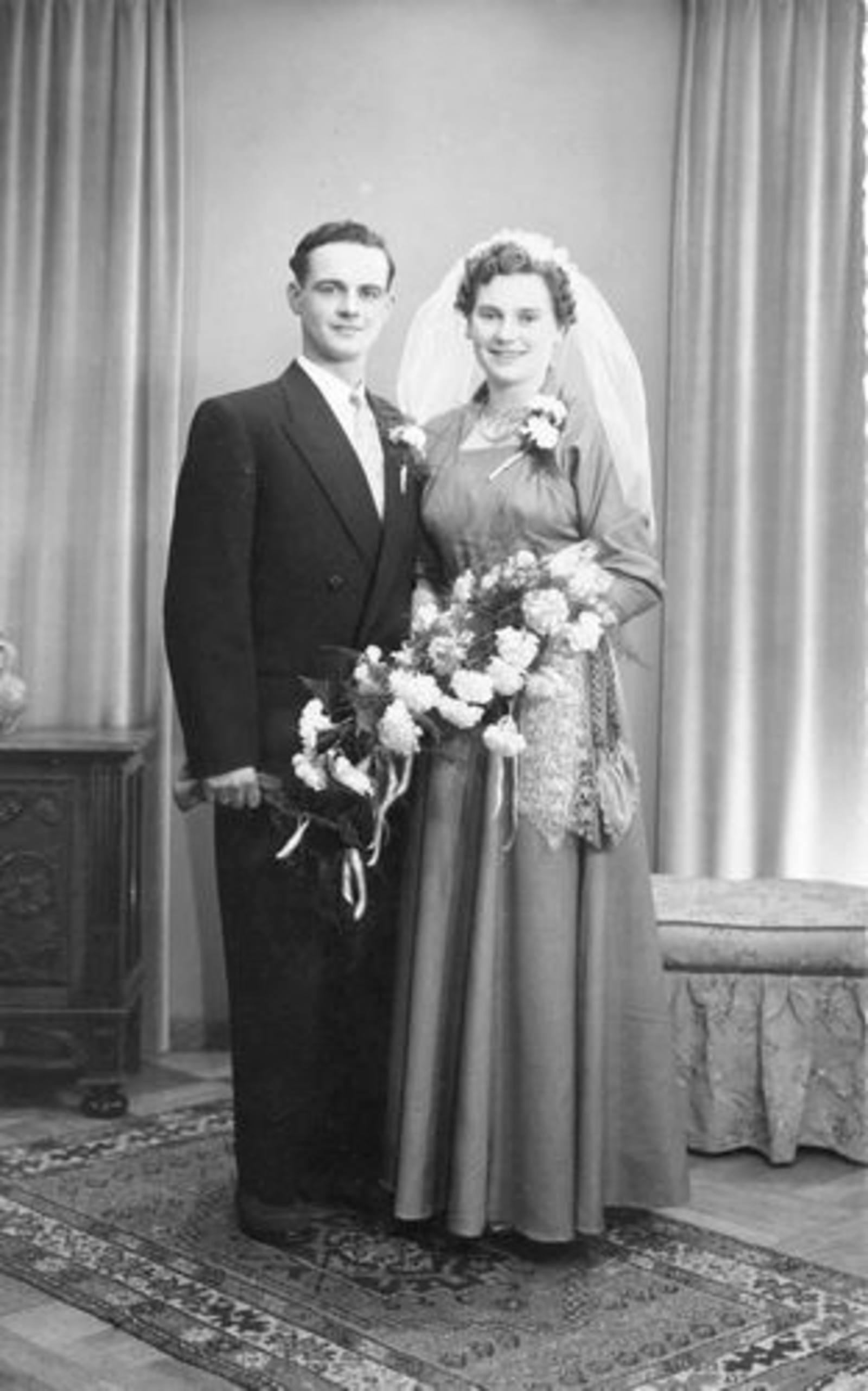 03 Wies Hill 1954 dochter Zus trouwt Renee Heyvaert 01