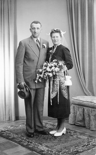 05 Wies Adriaan 1953 trouwt Lies Scheurwater