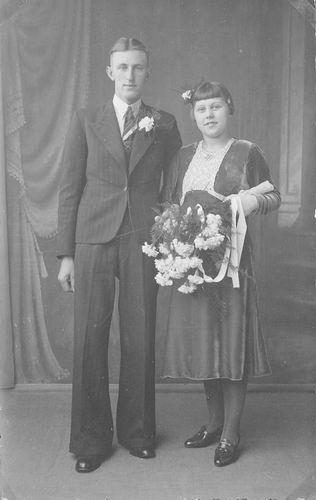 06 Wies Gerrit 1939 trouwt Sijtje Beers