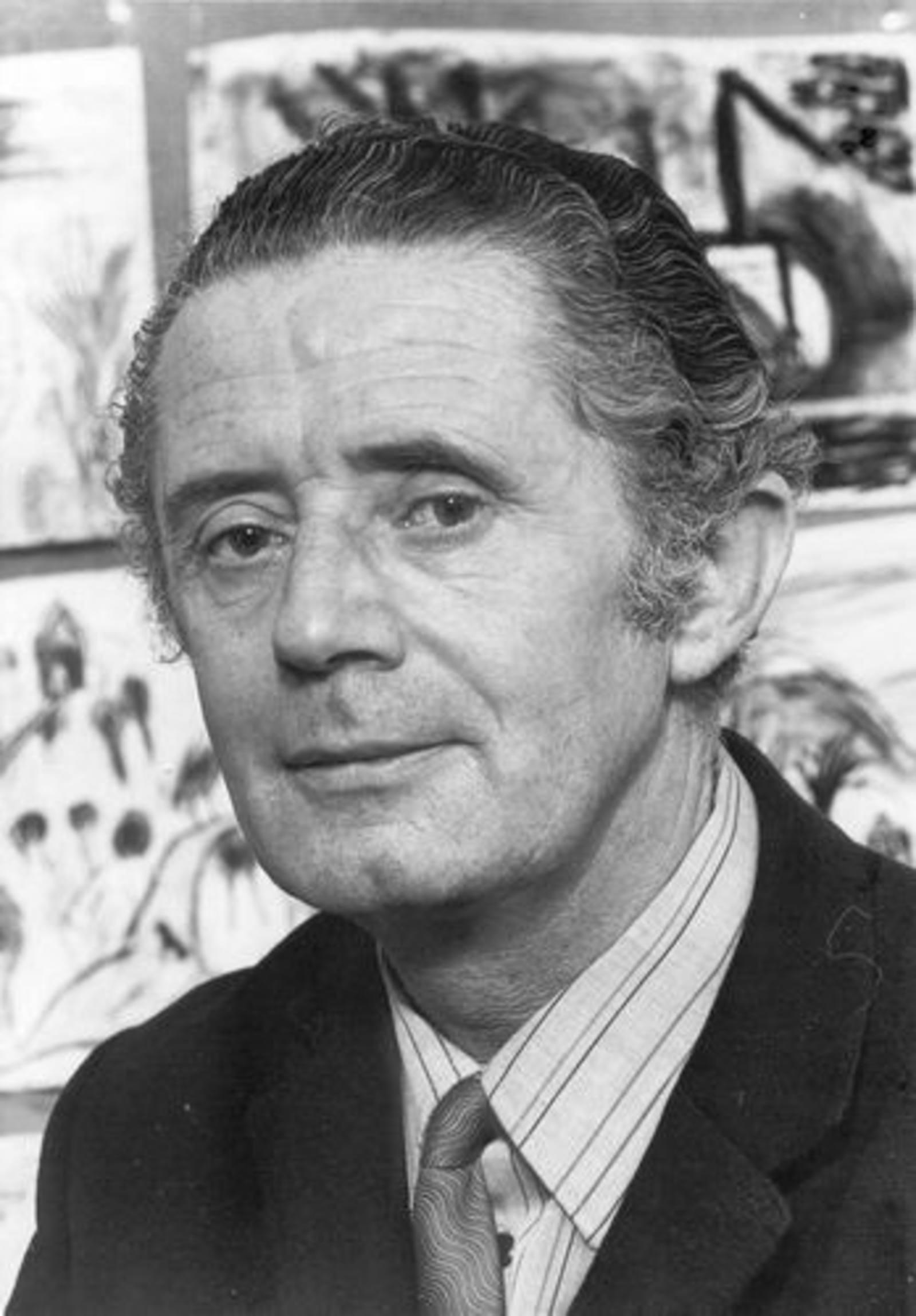 07 Wies Klasien 1974± Portret man Jan Leen