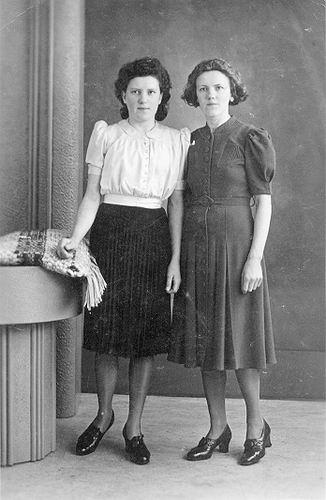 08 Wies Marie 1941 bij tante Marij in groningen