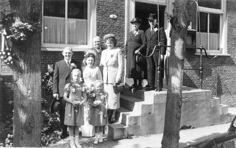 08 Wies Marie 1949 Trouwt Piet Smit 16