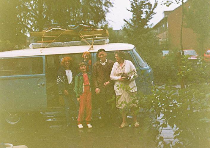 09 Wies Jan 1981 Vakantie met Meiden