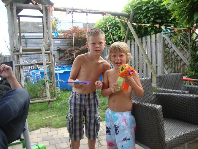 09 Wies Jan 2010 Kleinkinderen Nicky en Daan Lensen