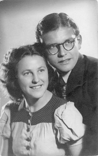 10 Wies Nel 1947 met Karel Eigenhuis