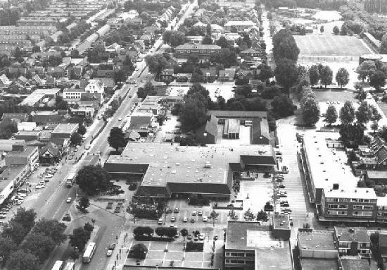 Hoofddorp 1980 Luchtfoto Centrum