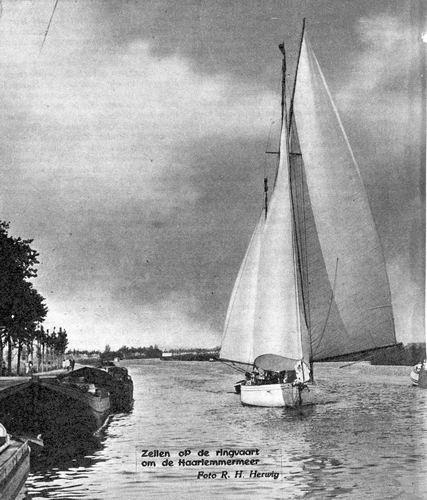 <b>ZOEKPLAATJE:</b>&nbsp;Onbekend Ringvaart 1955 Zeilen om de H'meer