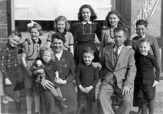 Kruislaan 0015 1945± Familie Jan Mesman