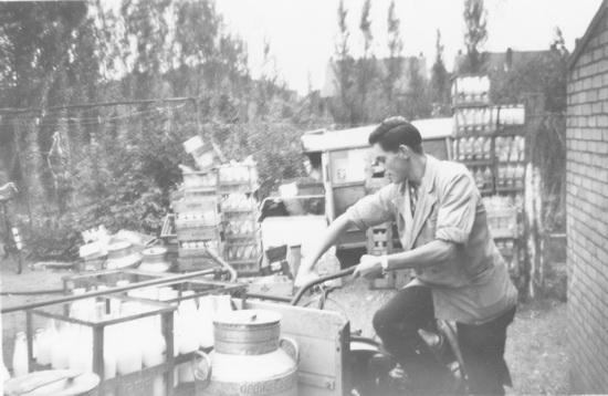 Kruislaan 0015 1960± Mesmans Erf met Ed v Poecke