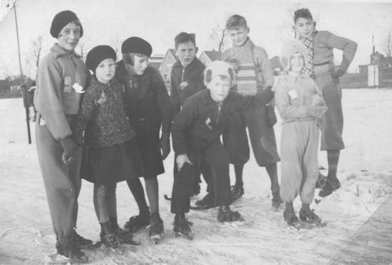 Raadhuislaan 006_ Helm Femmie 1931±  Schaatsbaan Raadhuislaan