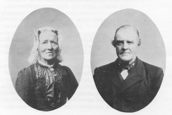 Fortweg 0003 Bernardus C Sliggers 1887 en echtgenote
