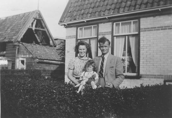 Fortweg 0024 1950± met Fam Jansen