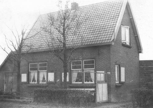 Aalsmeerderdijk 0184-183 1952 Huize Klaas Leegwater