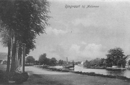 Aalsmeerderdijk 038_ 1907 met stoomboot.JPG