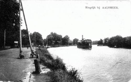 Aalsmeerderdijk 038_ 1919 met Stoomboot_exposure