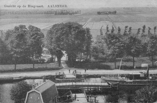 Aalsmeerderdijk 0400 1908 Kanaalstraatbrug en de Valk