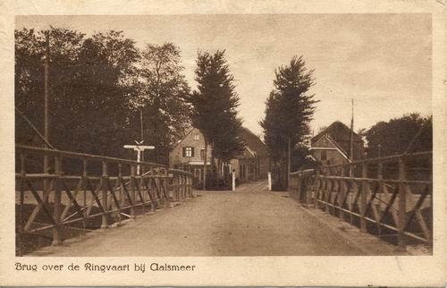 Aalsmeerderdijk 0400 1919 Kanaalstraatbrug en de Valk_2