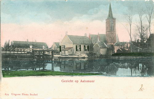 Aalsmeerderdijk 0401 Brug 1903 Kanaalstraatbrug 11 Ingekleurd