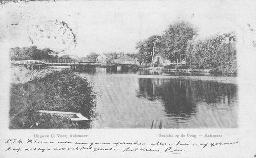 Aalsmeerderdijk 040_ 1905 of eerder Kanaalstraatbrug
