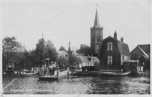 Aalsmeerderdijk 040_ Kanaalstraatpont 1947