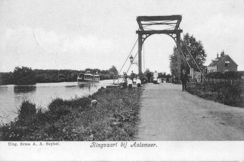 Aalsmeerderdijk 0460 Brug bij Fort 01 1909