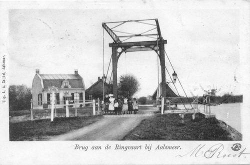 Aalsmeerderdijk 0460 Brug bij Fort 02 1902