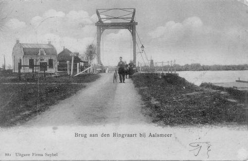 Aalsmeerderdijk 0460 Brug bij Fort 1904